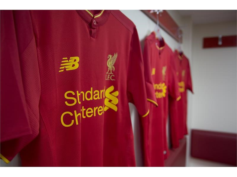 fb535773b New Balance Press Box   New Balance Reveals Liverpool FC 2016 17 Home Kit - New  Shirt is  Made for Liverpool