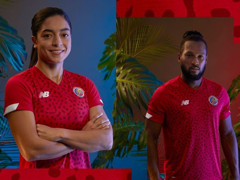 NEW BALANCE REVEALS COSTA RICAN FOOTBALL KITS FOR 2021