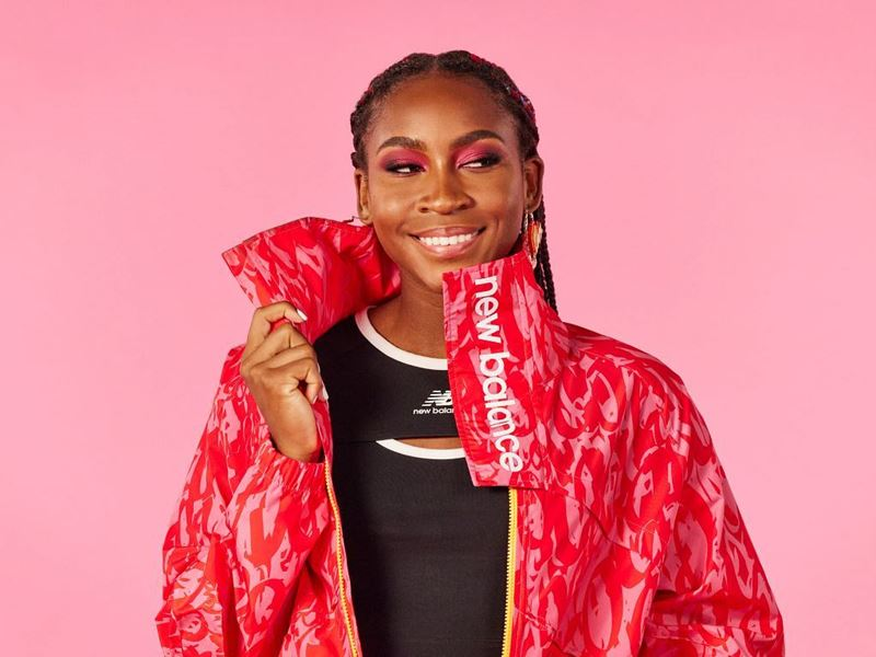 NEW BALANCE AND COCO GAUFF REVEAL THE TENNIS STAR'S FIRST CO