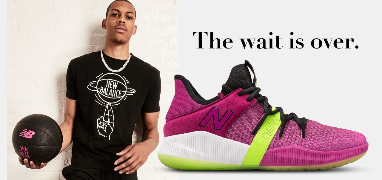 NEW BALANCE INTRODUCES THE OMN1S LOW WITH NBA PLAYER AND..