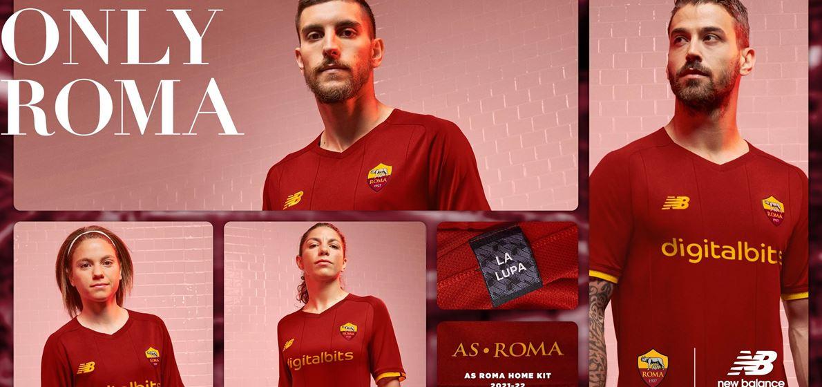 New Balance Reveals AS Roma 21/22 Home Kit
