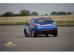 MG6 - Crash Test 2011