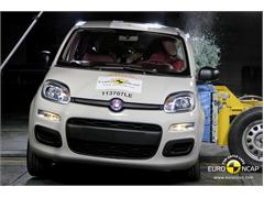 Fiat Panda - Crash Test 2011