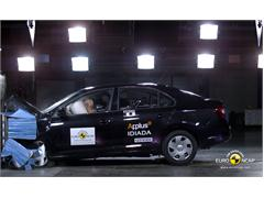 Skoda Rapid - Crash Test 2012