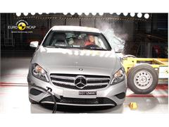 Mercedes Benz A-Class - Crash Test 2012