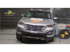 Hyundai Santa Fe - Crash Test 2012