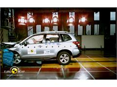 Subaru Forester - Crash Test 2012