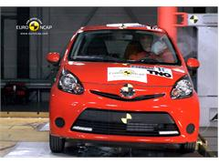 Toyota Aygo and Twins Disappoint in Safety Tests, according to Euro NCAP's Latest Test Series