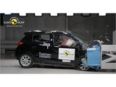 Mitsubishi Space Star/Mirage - Euro NCAP Results 2013