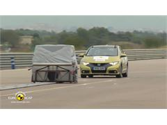 Honda Civic - Euro NCAP AEB Results 2013