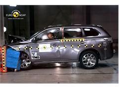 Mitsubishi Outlander PHEV - Euro NCAP Results 2013
