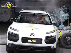 Euro NCAP Safety Ratings Released for C4 Cactus, V-Class and X-Trail