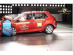 Skoda Fabia  - Euro NCAP Results 2014