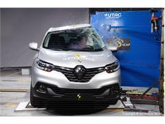 Renault Kadjar  - Euro NCAP Results 2015