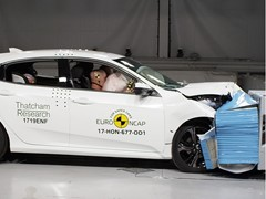 Honda Civic - Euro NCAP Results 2017