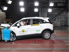 Opel/Vauxhall Crossland X  - Euro NCAP Results 2017
