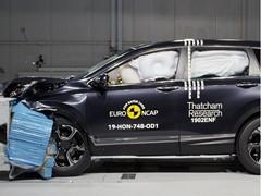 Honda CR-V - Euro NCAP 2019 Results - 5 stars