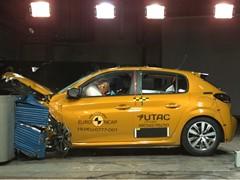 Peugeot 208 - Euro NCAP 2019 Results - 4 stars