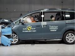 Volkswagen Sharan - Euro NCAP 2019 Results - 4 stars