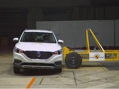 MG ZS EV - Euro NCAP 2019 Results - 5 stars