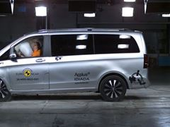 Update of the 2014 Mercedes-Benz V-Class assessment with Mercedes-Benz EQV footage