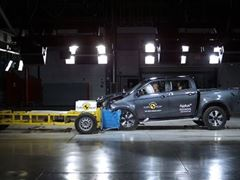 Isuzu D-Max - Euro NCAP 2020 Results - 5 stars