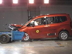 Renault Kangoo - Euro NCAP 2021 Results - 4 stars