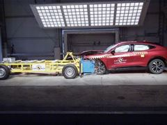 Ford Mustang Mach-E - Euro NCAP 2021 Results - 5 stars