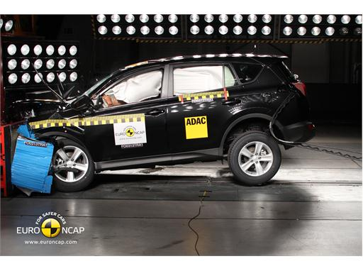 Toyota RAV4 - Frontal crash test 2013