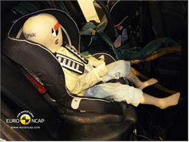 Mazda CX-7 - Child Rear Seat crash test