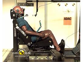 VW Sharan- Whiplash crash test
