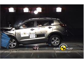 Kia Sportage – Front crash test