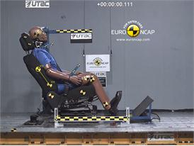 Kia Sportage – Whiplash crash test
