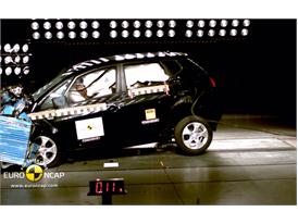 Kia Venga – Front crash test