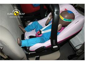 Landwind CV9 – Child Rear Seat crash test