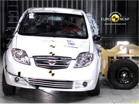 Landwind CV9  – Side crash test