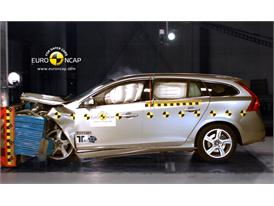 Volvo V60 – Front crash test