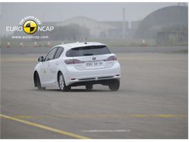 Lexus CT200h – ESC Test 2011