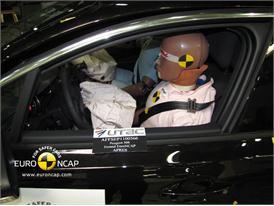 Peugeot 508– Driver crash test