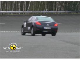 Peugeot 508 – ESC Test 2011