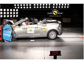 VW Golf Cabriolet – Front crash test