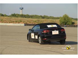VW Golf Cabriolet – ESC test