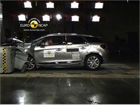 Citroen DS5– Front crash test