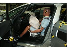 Citroen DS5– Driver crash test