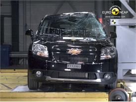 CHEVROLET Orlando – Pole crash test