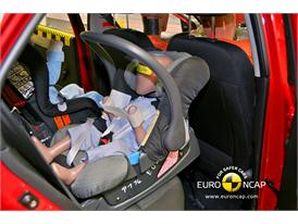 KIA Picanto – Child Rear Seat crash test