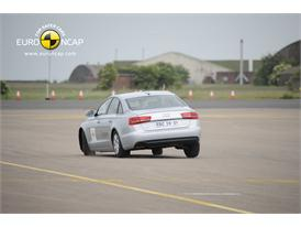 AUDI A6  – ESC  test