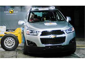 Chevrolet Captiva – Side crash test