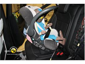 Mercedes M-Class – Child Rear Seat crash test