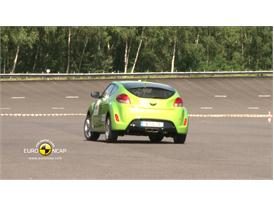Hyundai Veloster – ESC test
